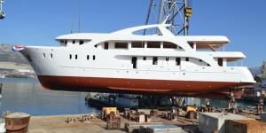 New mini cruiser from the series of passenger ships