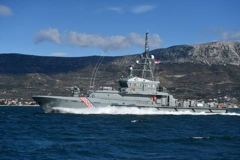 Coastal patrol vessel