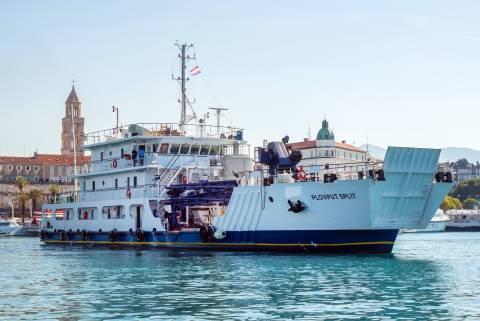 Radni brod - Betonara