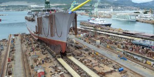 Brodosplit launches world's largest sailing ship