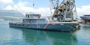 Launching of Coastal Patrol Vessel