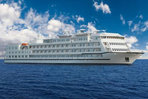 Coastal passenger cruiser