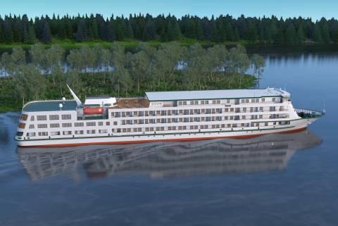 Brod za riječna putovanja