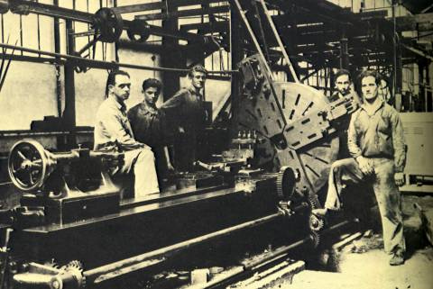 History of Split shipbuilding industry