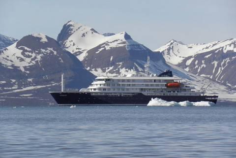 Brod za krstarenje polarnim područjima