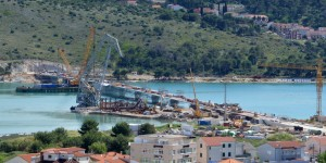 Brodosplit povezao dvije obale novim mostom
