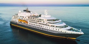 Technologically advanced polar expedition cruise vessel