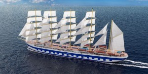 Brodosplit is building the world's largest sailing ship