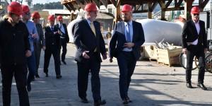 Američki veleposlanik posjetio Brodosplit