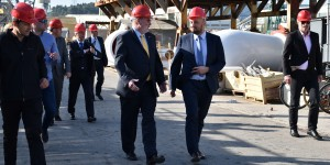 Ambassador of the United States Visited Brodosplit