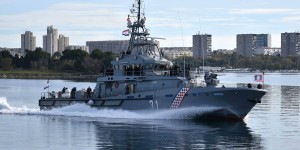 Croatian Navy takes over new patrol vessel