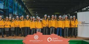 U Brodosplitu započela gradnja broda za krstarenje polarnim područjima