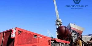 Transport i isporuka megasekcija za grupaciju Fincantieri