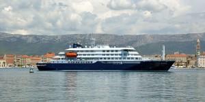 Polar expedition ship handover in Brodosplit