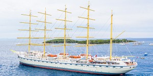 The safest sail ship in the world was built in Brodosplit