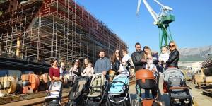 Brodosplit je pronatalitetna kompanija – Na 100 škverana rodi se dvoje djece!
