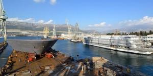 Nova isporuka mega sekcija za grupaciju Fincantieri iz Brodosplita