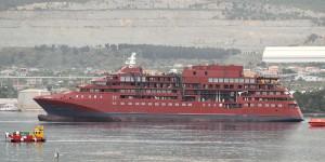 U Brodosplitu porinut brod za polarne ekspedicije