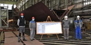 Brodosplit lays keels for two coastal patrol vessels