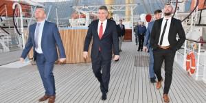 Predsjednik republike Zoran Milanović posjetio Brodosplit