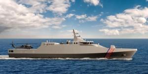 Offshore patrol vessel – Corvette BIS-91