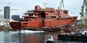 U Brodosplitu porinut brod za krstarenja polarnim područjima