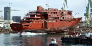 Polar cruise ship launched in Brodosplit