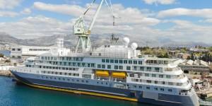 Pandemiji korona virusa unatoč u splitskom brodogradilištu održana primopredaja broda za polarne ekspedicije – vraćena državna jamstva i kredit HBOR-u
