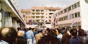 Trideset godina od prosvjeda pred Banovinom