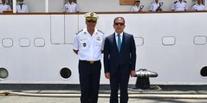 "Zapovjednik školskog broda ""El-Mellah"" i veleposlanik Alžira posjetili Brodosplit"