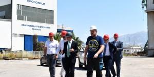 The US delegation visited Brodosplit