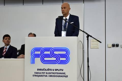 Zoran Kunkera, član uprave i izvršni direktor brodogradilišta Brodosplit.