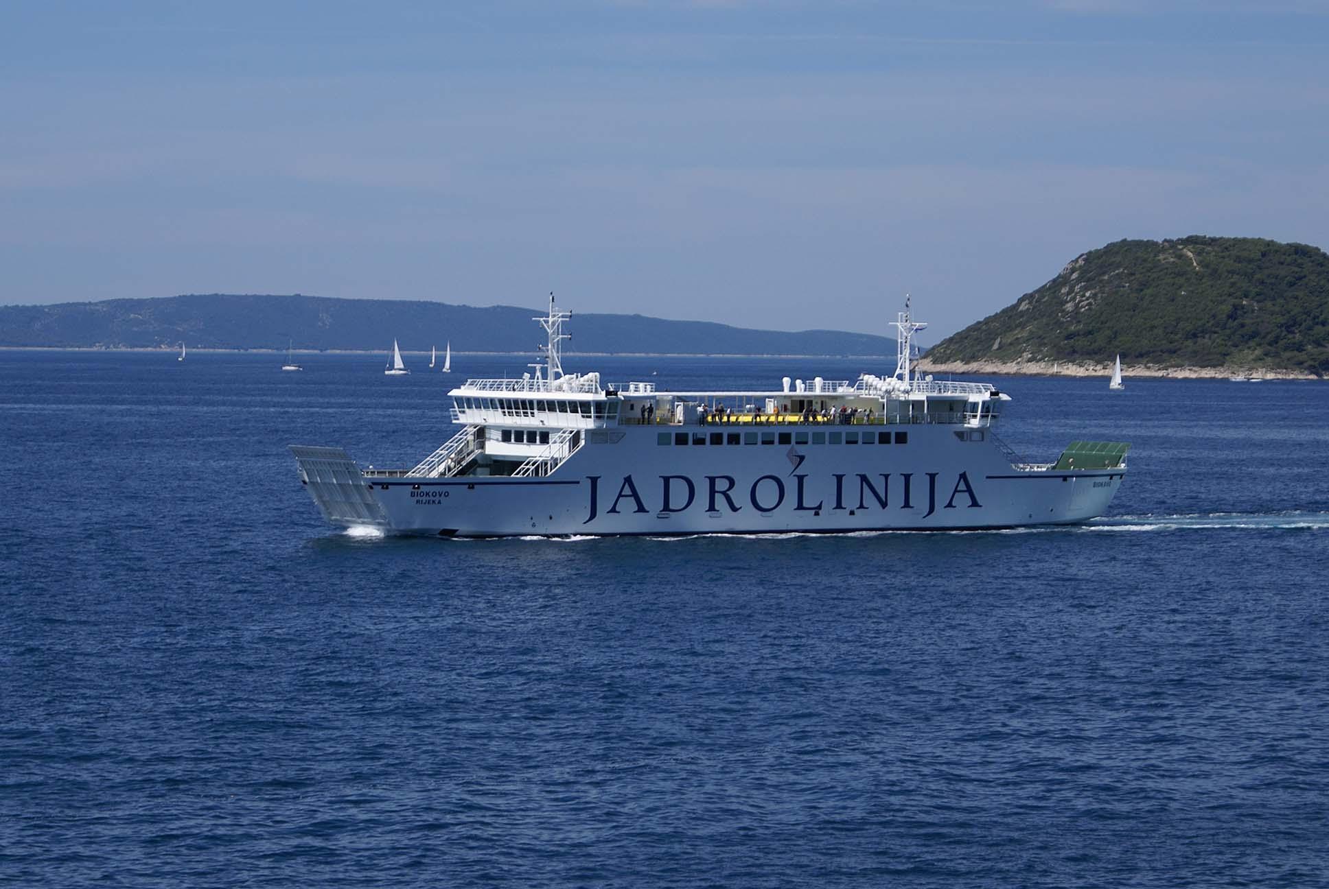 Ro-Ro Car & Passenger Ferry - Shipbuilding - Brodosplit title