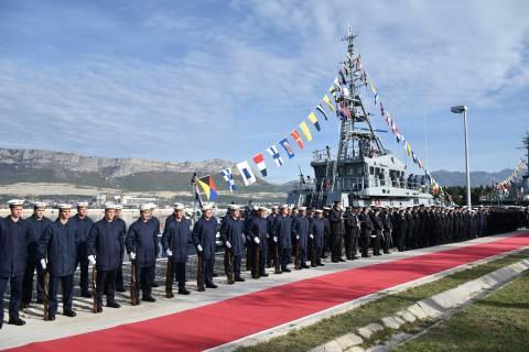 Primopredaja obalnog ophodnog broda OOB-31 ''OMIŠ''