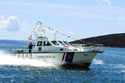 Brza aluminijska brodica za traganje i spašavanje